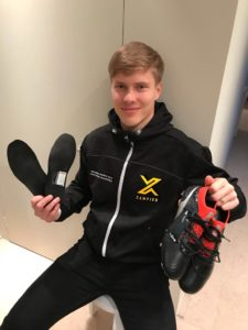 ere Uronen plays for KRC Genk in Belgium and is an Ambassador for Xampion.