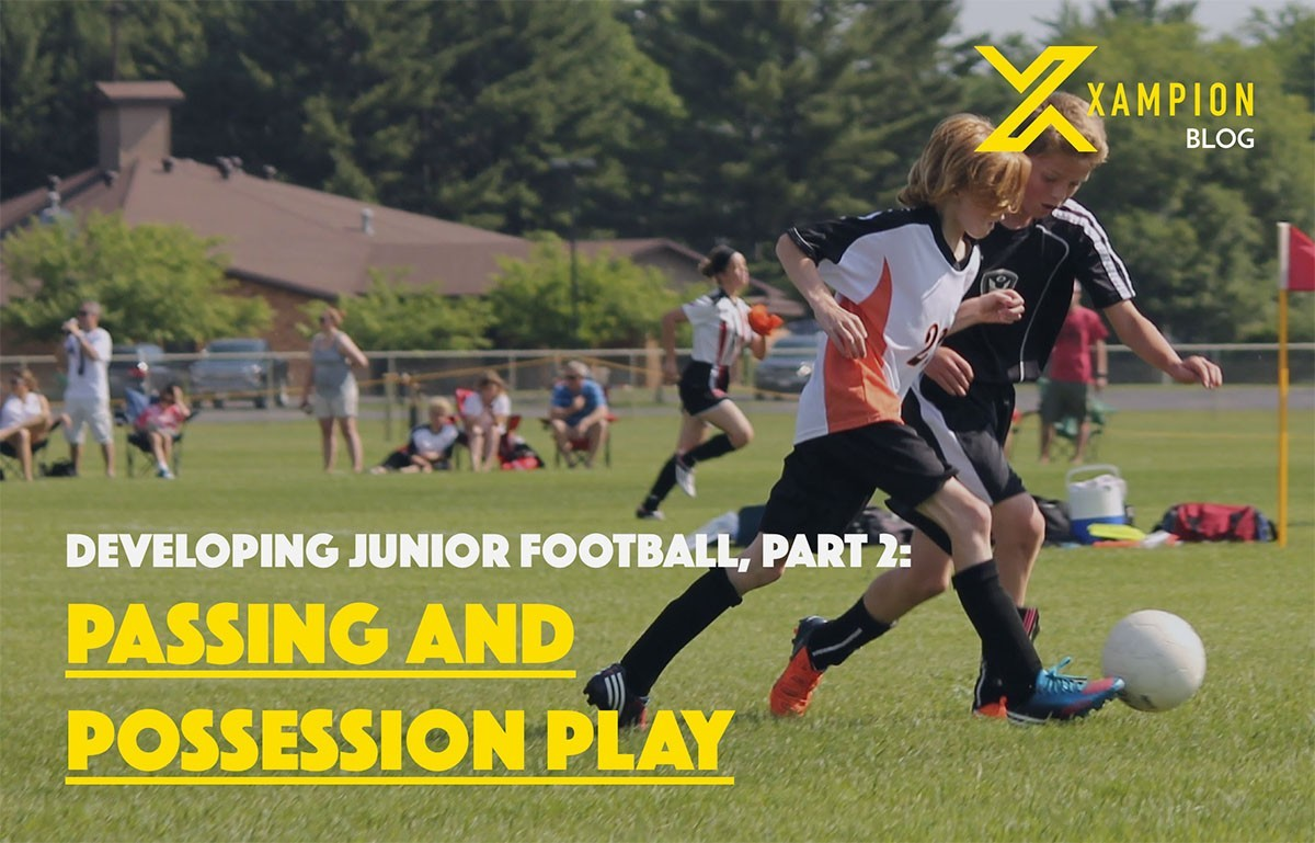 Developing junior football part 2-passing and possession play