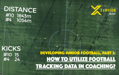 How to utilize football tracking data in coaching
