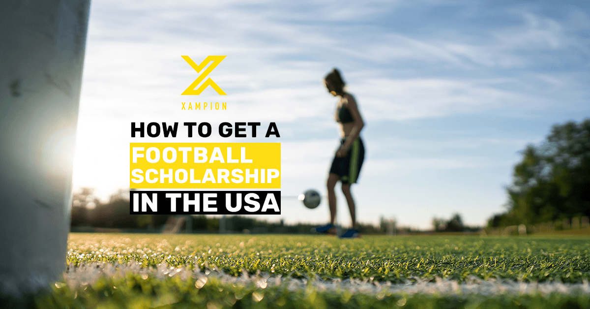 Get a football scholarship in the USA