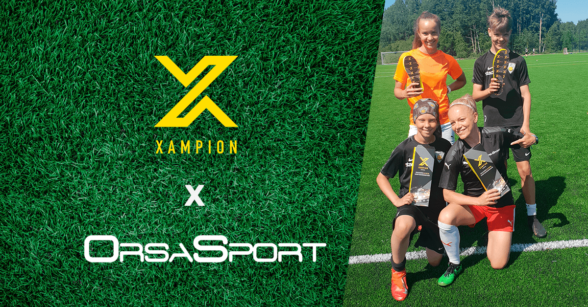 Xampion in cooperation with Orsasport